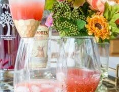 Pomegranate Paloma Cocktail and Mocktail Recipe
