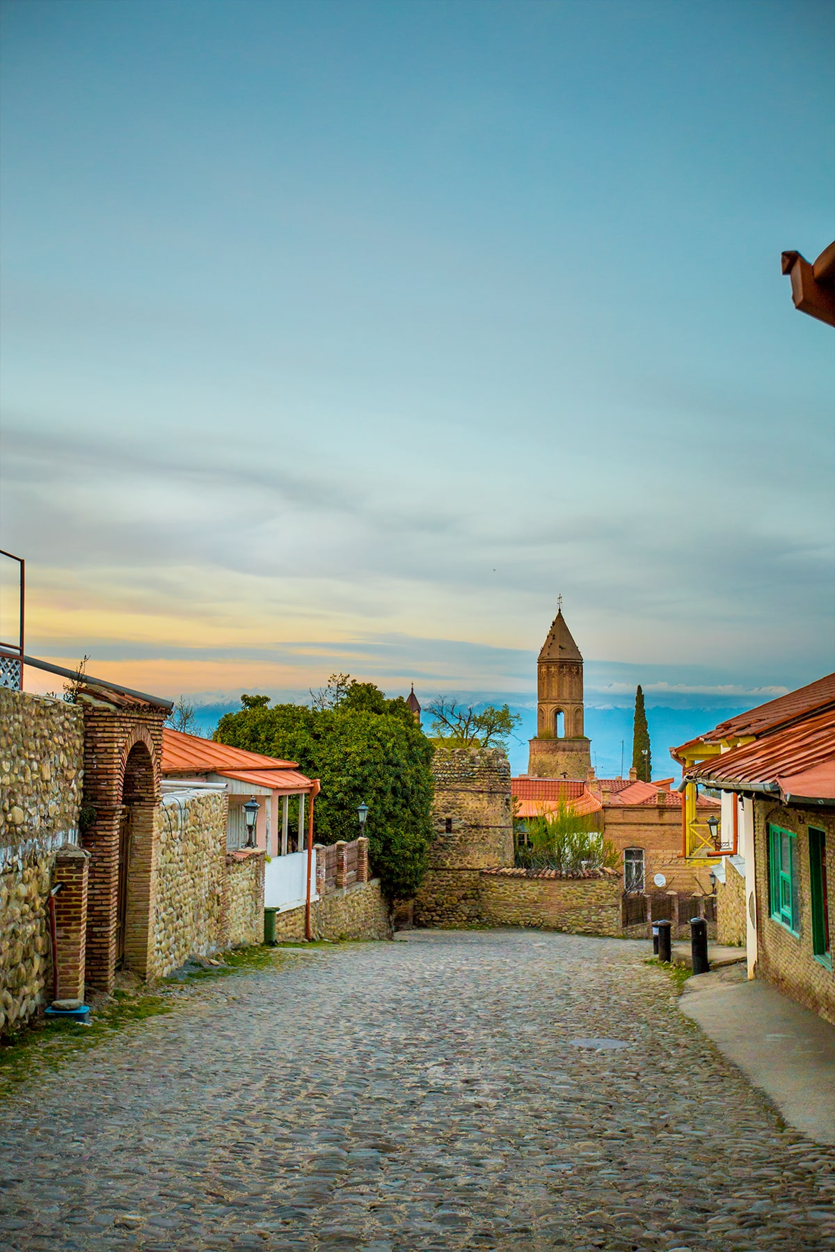 Sunrise, Sighnaghi Georgia- I love this gorgeous town!