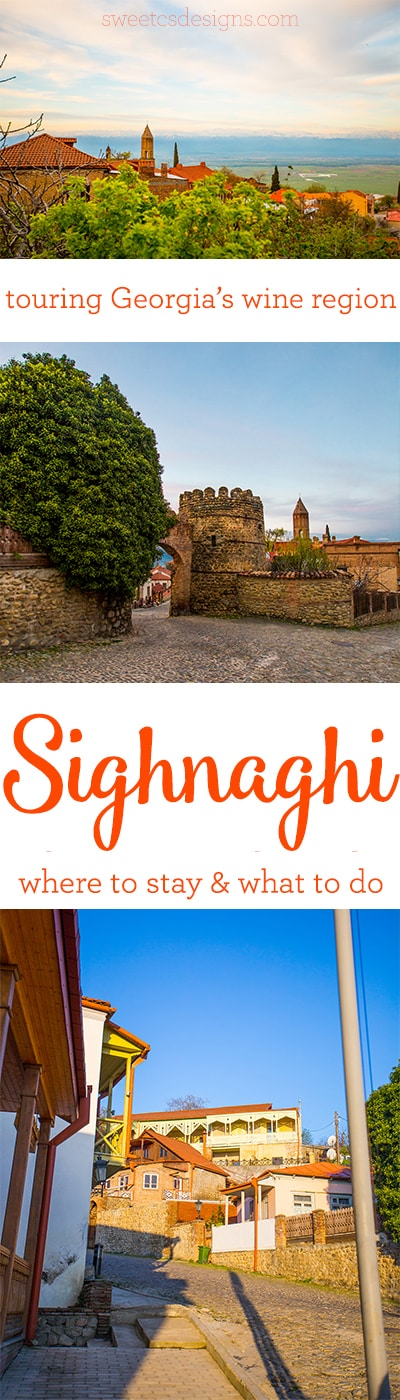 Touring Sighnaghi- Georgia's famous wine region copy