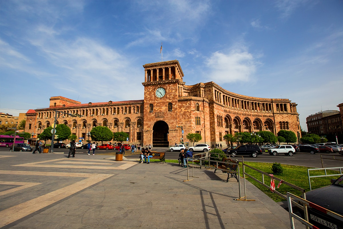 Yerevan, Armenia- I love the architecture here!