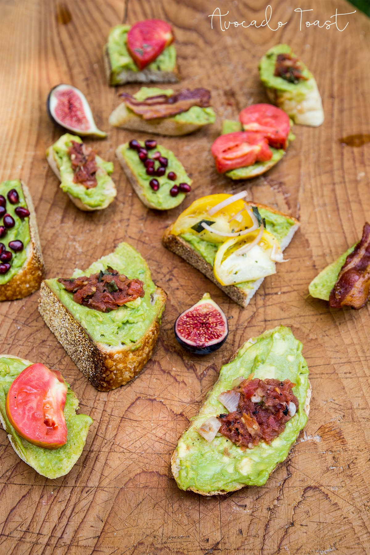 Avocado Toast- these variations look so delicious!