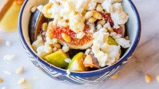 Fig and Honey Fruit Salad