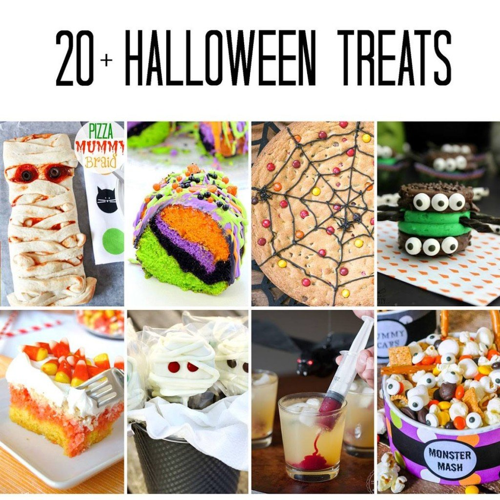 20+ of the best Halloween treats!