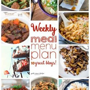 Easy Weekly Meal Plan #11