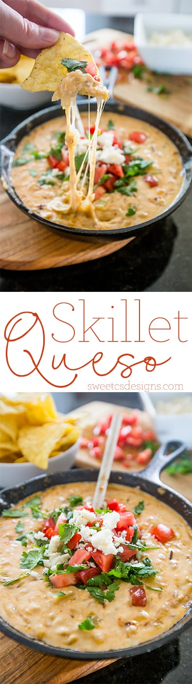 This is the most delicious queso ever!