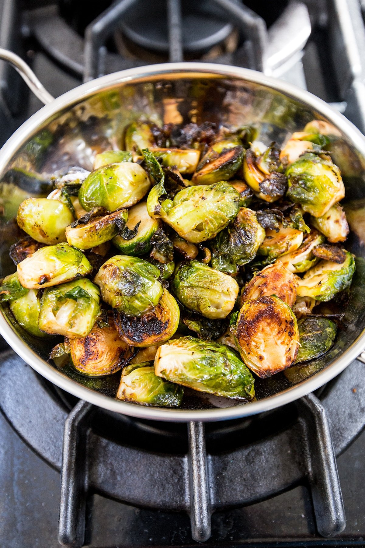 This is the most delicious way to cook brussels sprouts ever!
