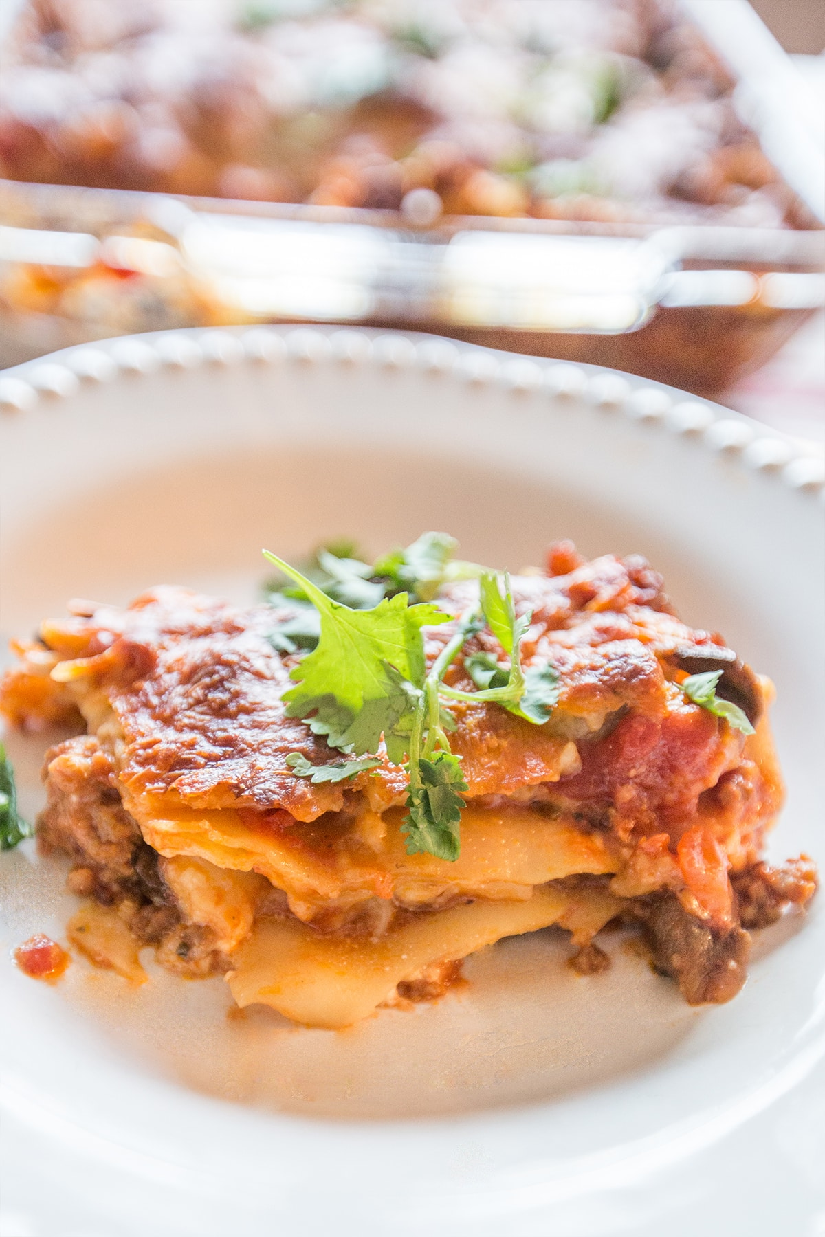 Cottage cheese lasagna shared by sweet c designs