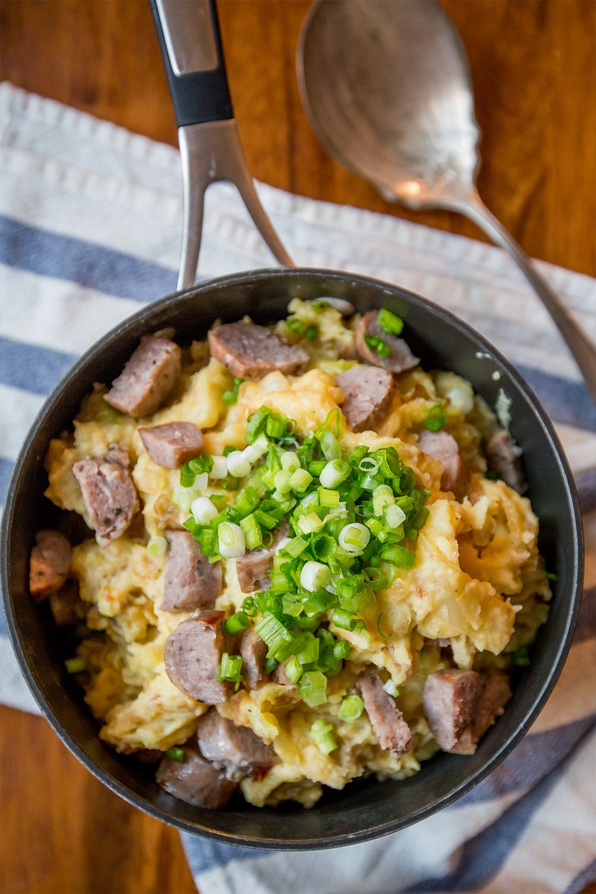 Love this recipe- tons of cheesy, creamy flavor in a delicious take on this irish dish!
