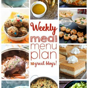 Easy Weekly Meal Plan #12