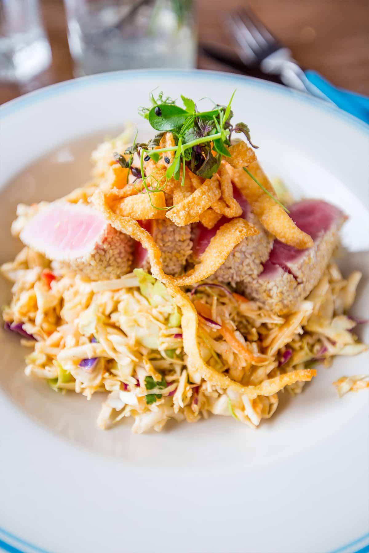 Ahi Salad- Four Seasons Orlando