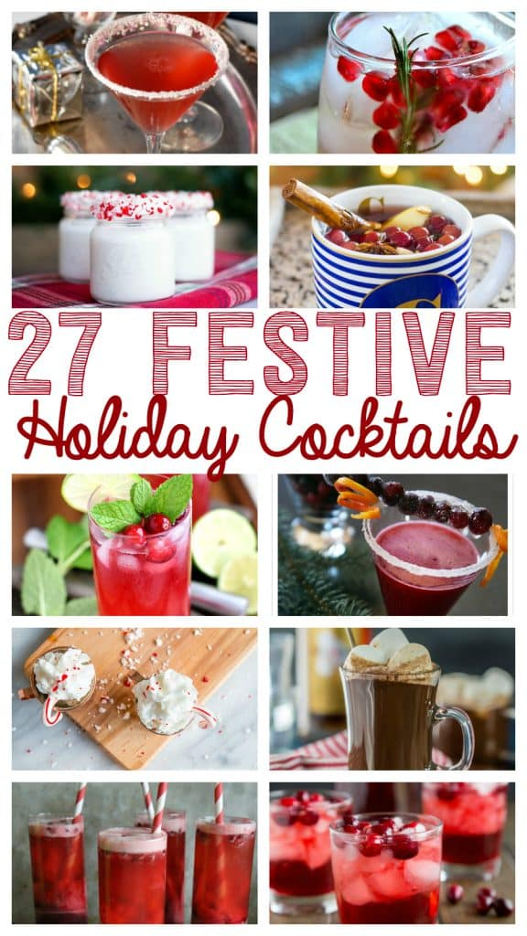 27 Festive Christmas Cocktails