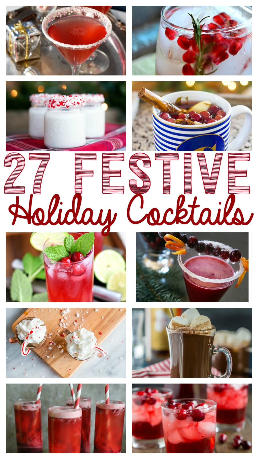 27 festive holiday cocktails