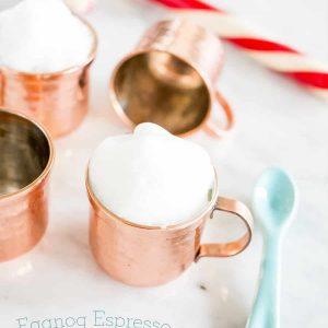 Eggnog Espresso Shooters
