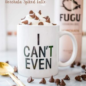 Horchata Spiked Latte