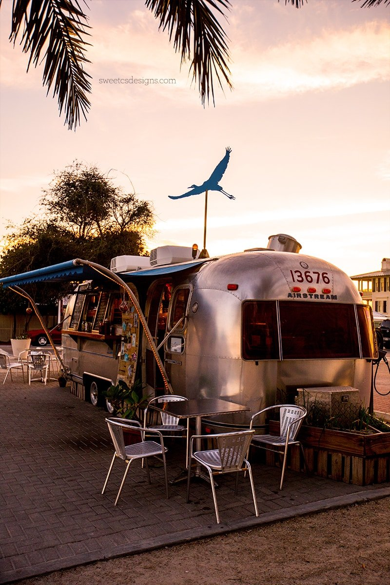 Seaside Florida Airstream Food Trucks