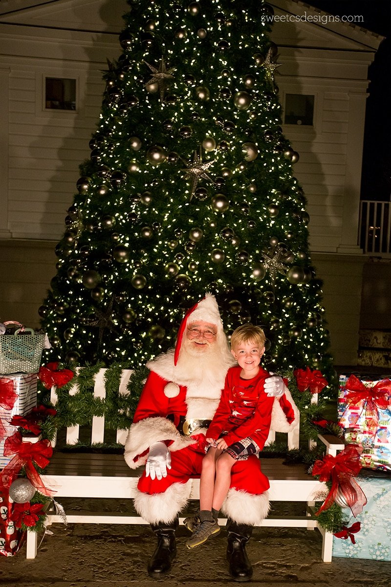Seaside florida Santa Claus!