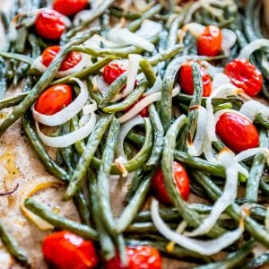 Roasted Green Bean Salad