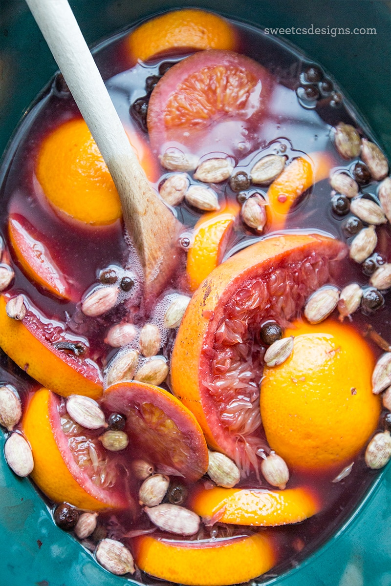 This mulled wine recipe is traditional, comforting, and perfection!