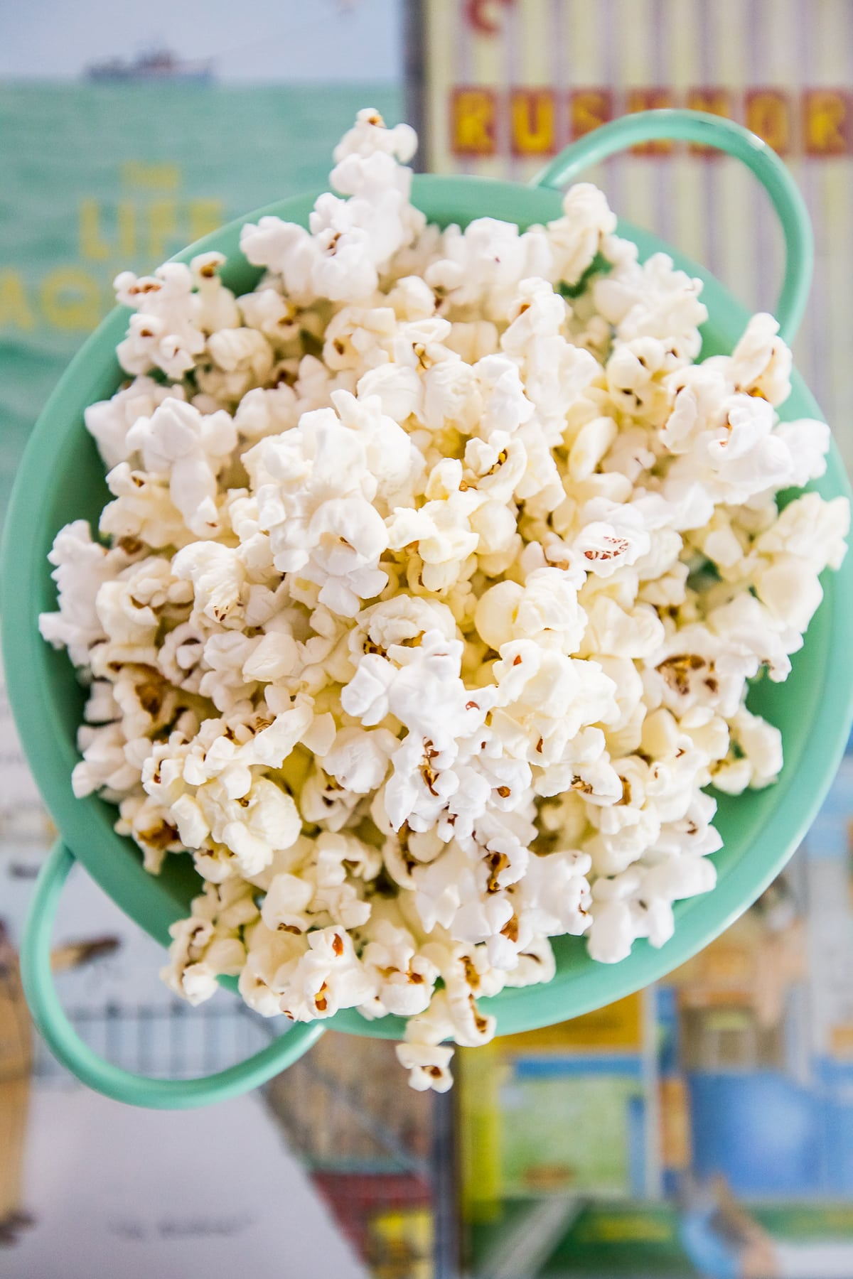 The best movie style popcorn ever- YUMMY!!