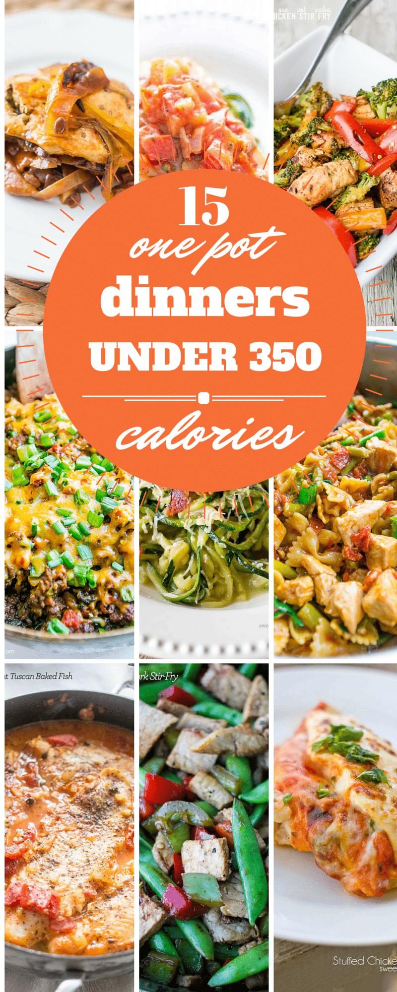 15 Best One Pot Dinners Under 350 Calories Sweet Cs Designs