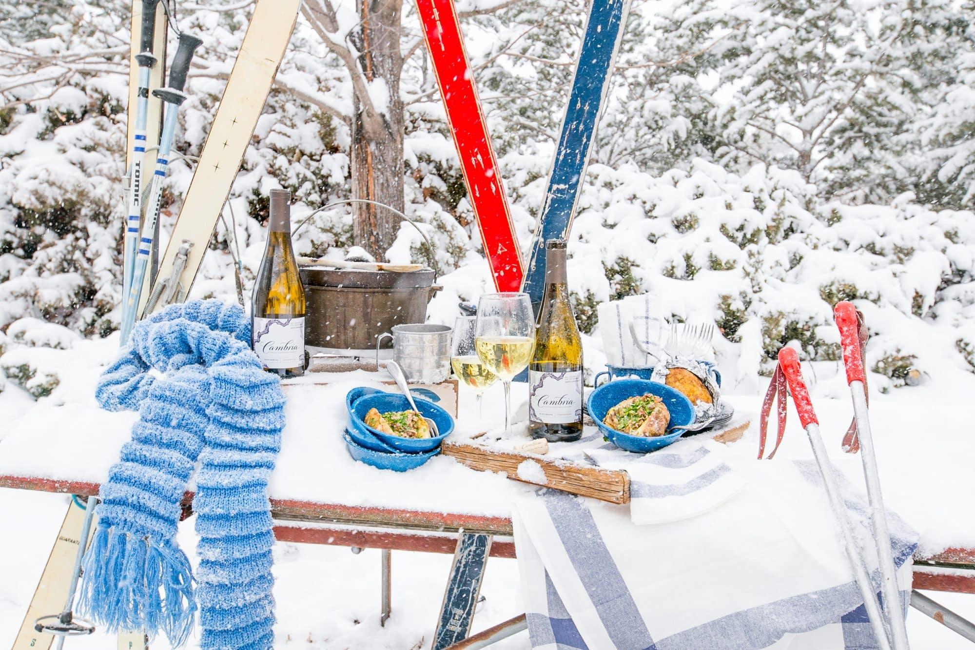 Love this Apres Ski Wine Dinner!