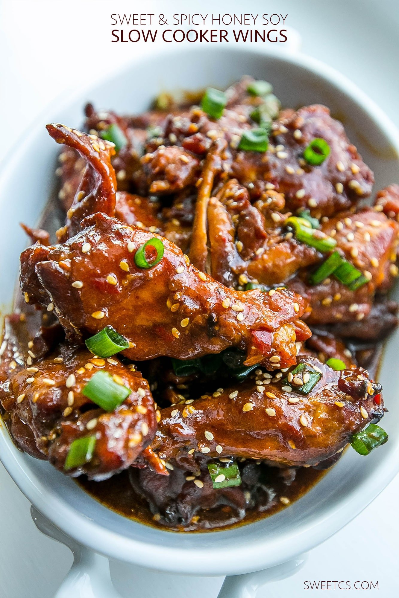 Honey Soy Glazed Chicken Wings – Sweet C's
