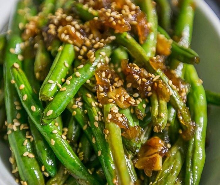 Garlic chinese style green beans sweet cs designs forumfinder Gallery