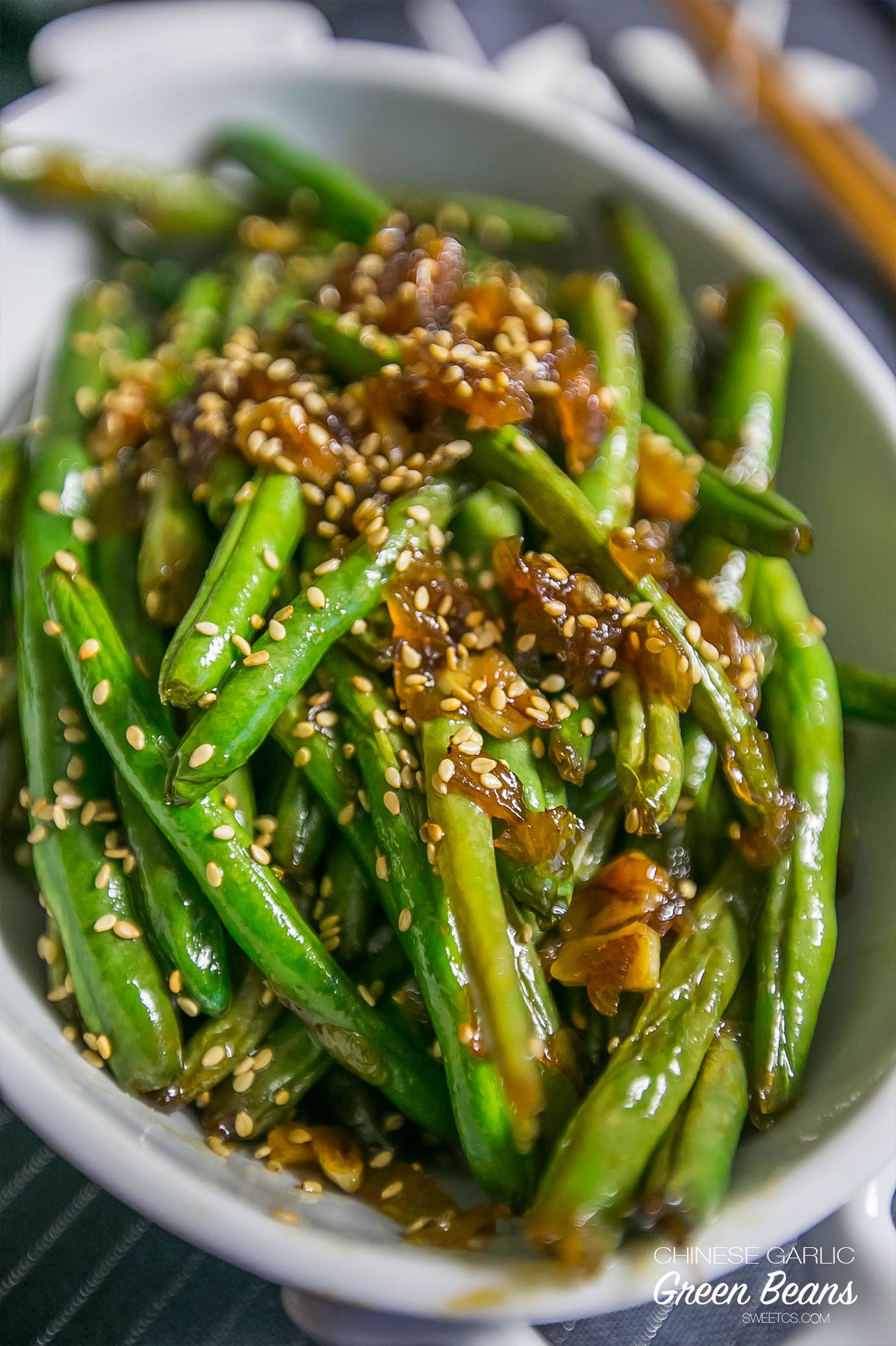 ... and tastiest way ot make green beans - garlic chinese green beans