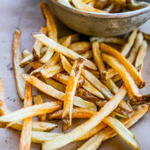 The Best Homemade French Fries (flash-fry method)