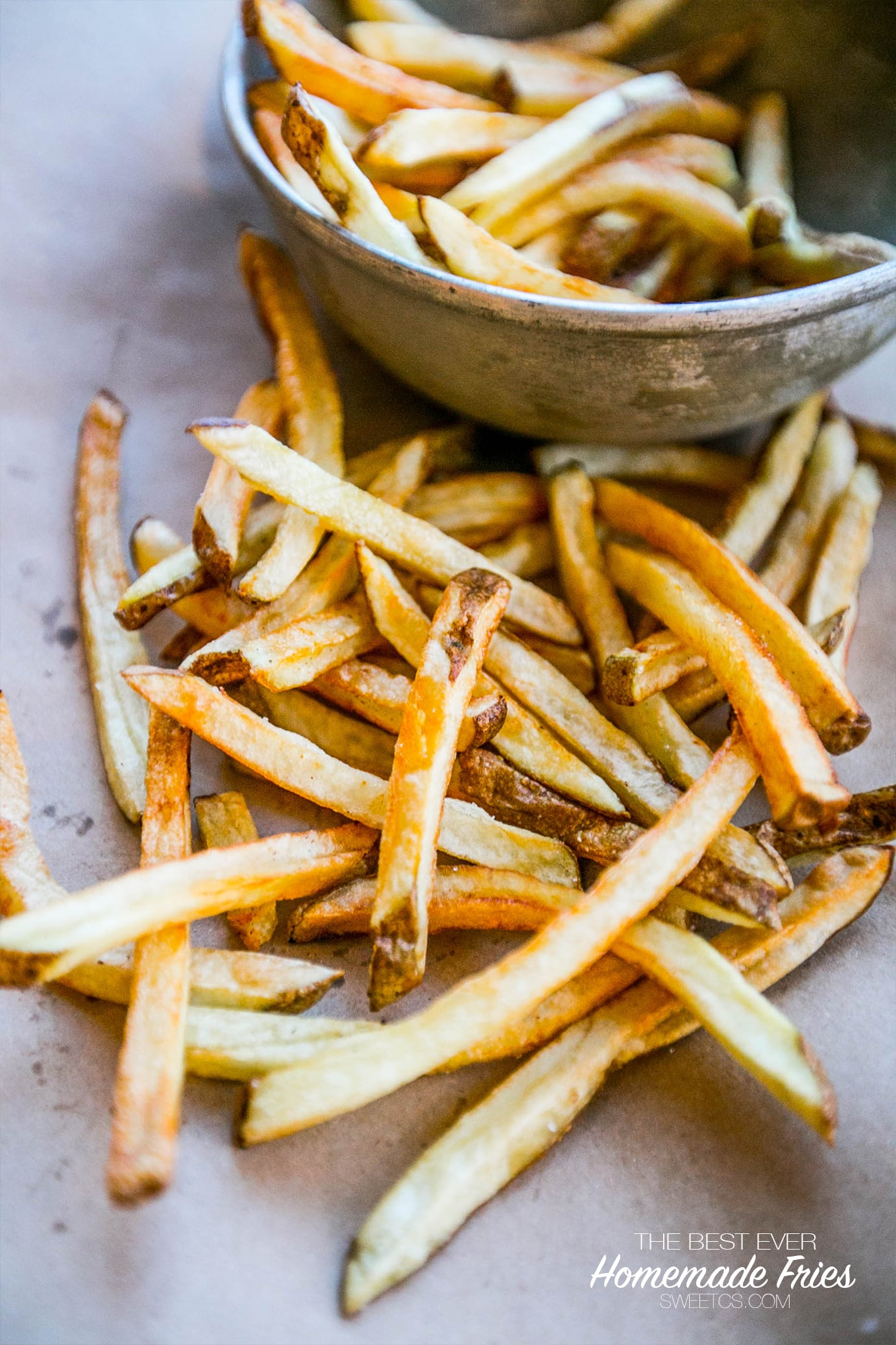 The Best Homemade French Fries (flash-fry method) - Sweet ...