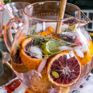 Rosemary Citrus Detox Water