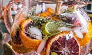Rosemary Citrus Detox Spa Water