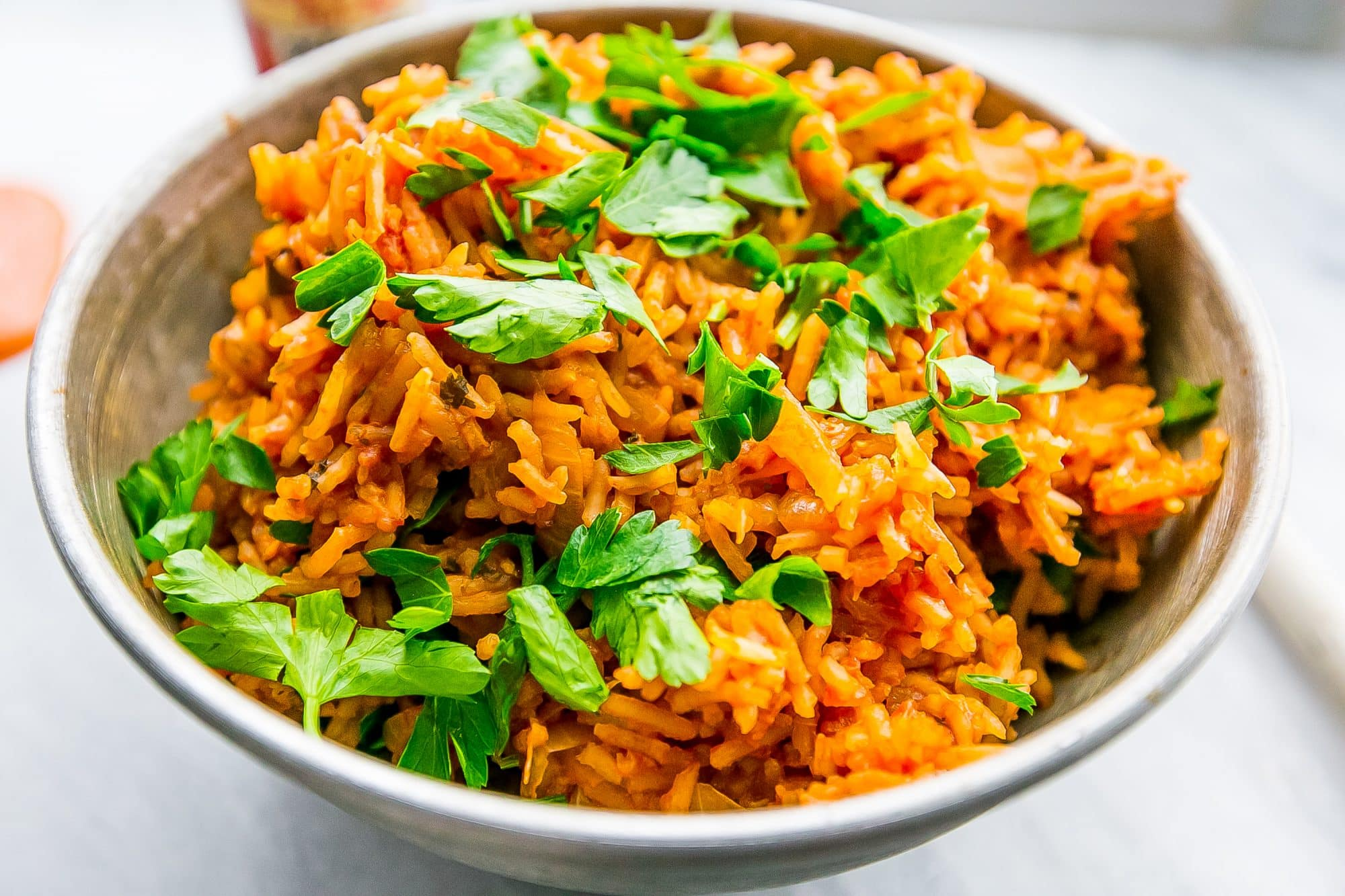 This knockoff nandos spicy rice is so easy and delicious!