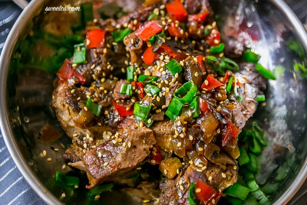 these delicious asian style country ribs are perfect in a slow cooker or dutch oven!