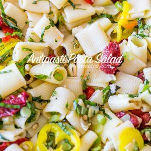 Vegan AntiPasti Pasta Salad