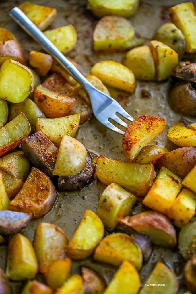 I love these honey cajun potatoes - so delicious!