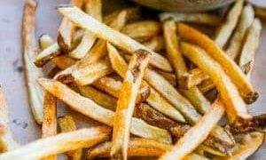 The Best Homemade French Fries (Flash Fried)
