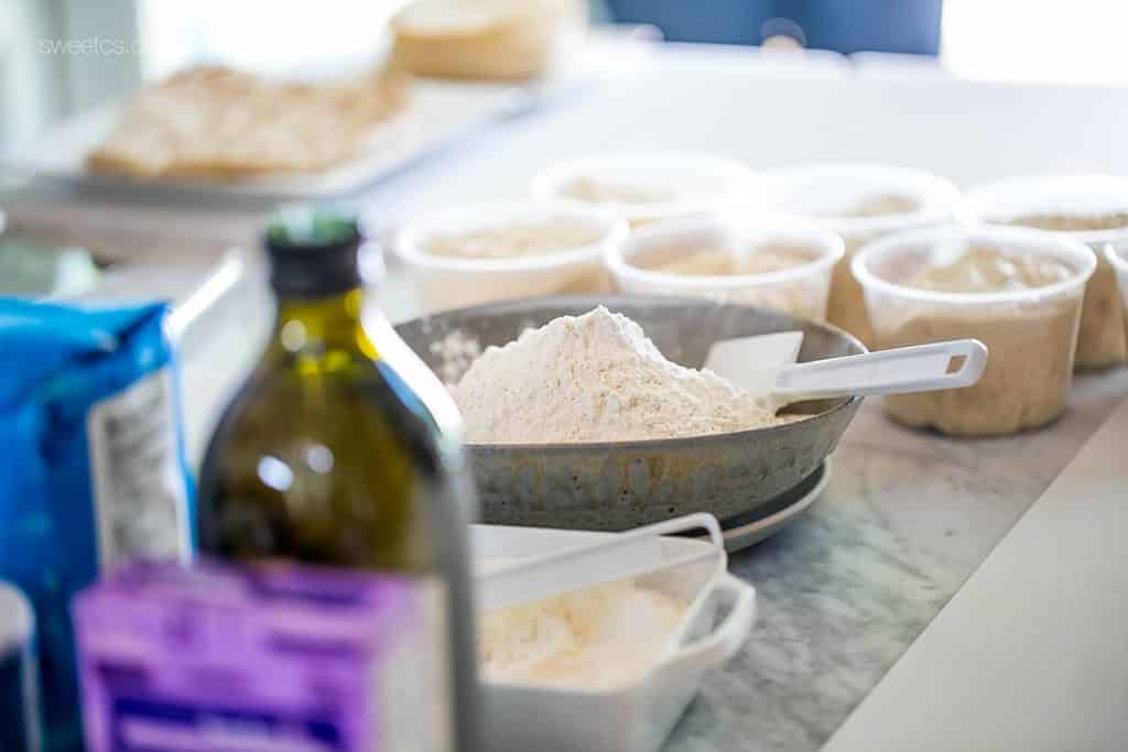 DIY flatbread making party- such a fun idea!