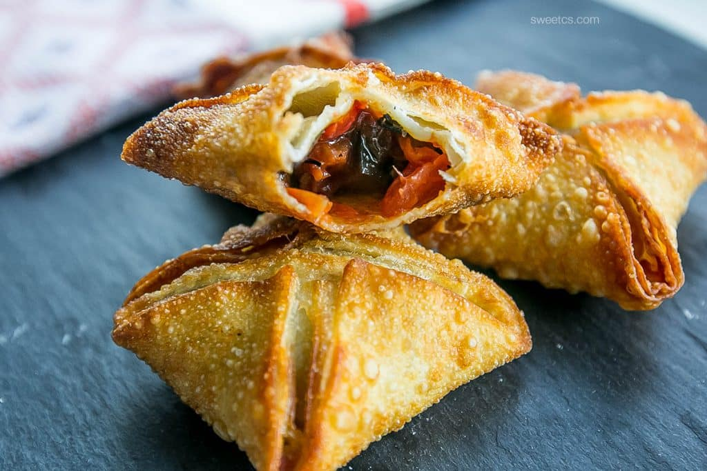 These delicious vegan samosas are so delicious and easy!
