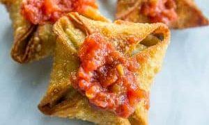 Spicy Vegan Samosas
