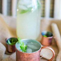 Basil Lemonade Moscow Mule