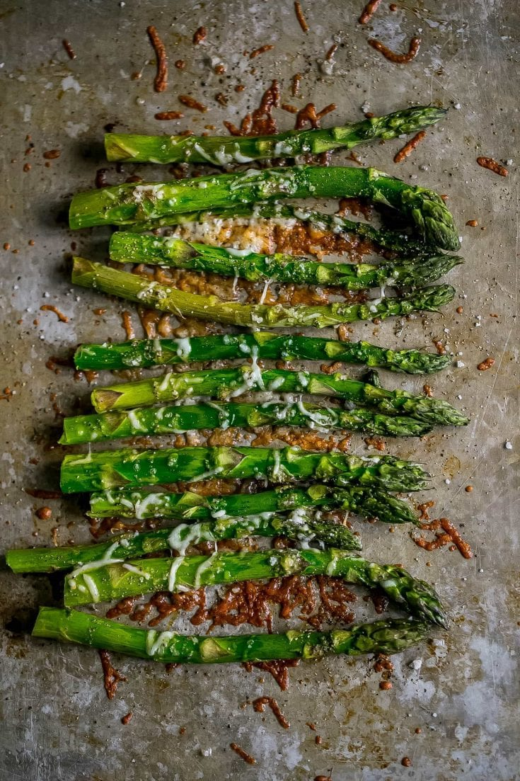 The Best Oven Roasted Parmesan Asparagus Recipe