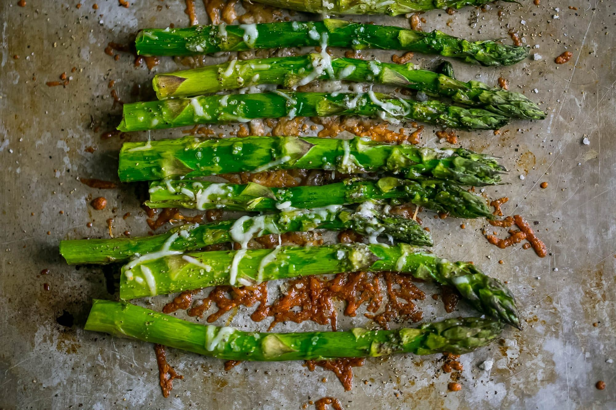 The Best Oven Roasted Parmesan Asparagus Recipe Picture
