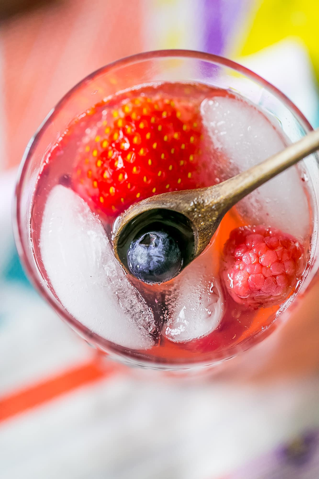 This delicious berry basil lemonade is so perfect for summer days!