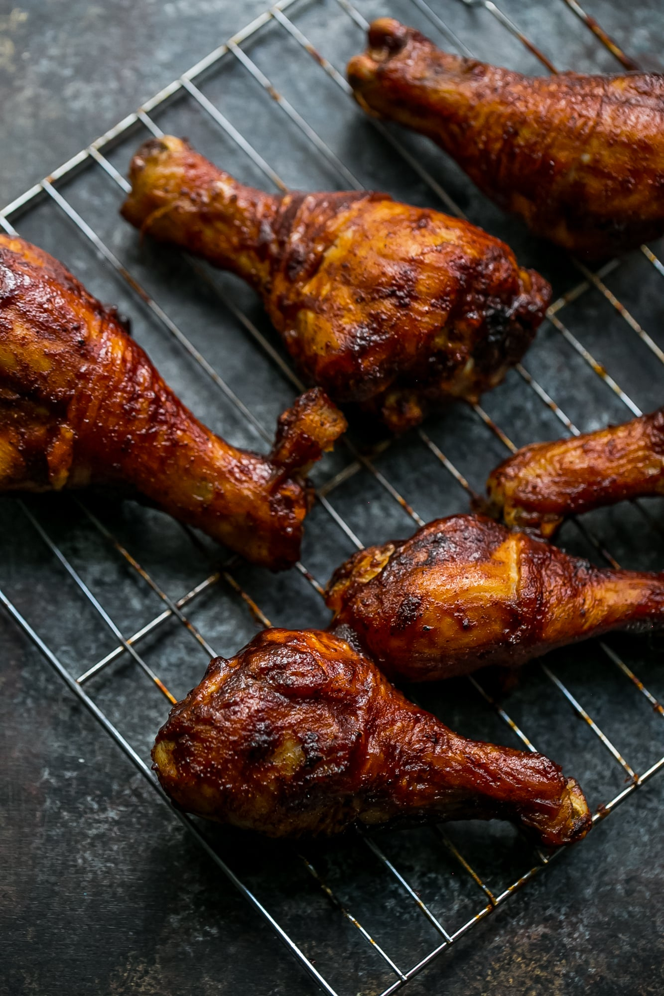 crunchy baked bbq chicken drumsticks sweet c 39 s designs. Black Bedroom Furniture Sets. Home Design Ideas