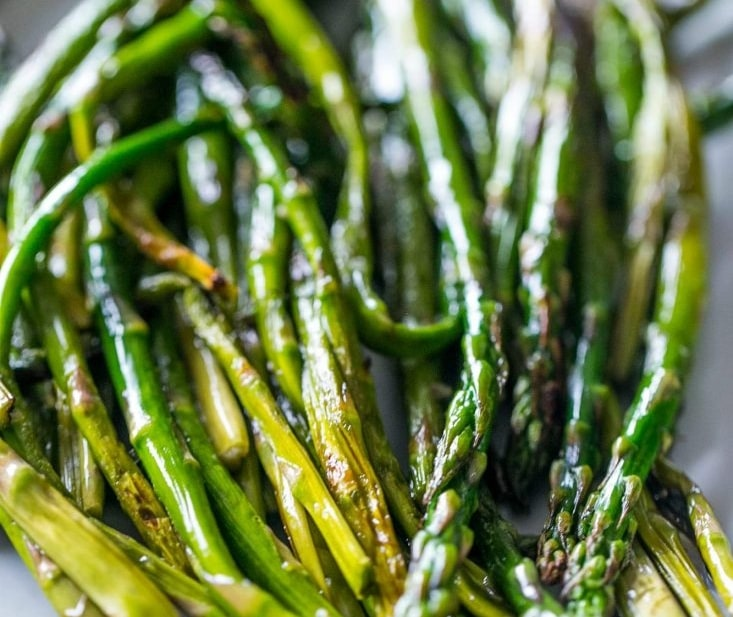 Pan Fried Asparagus, Sides, Veggies