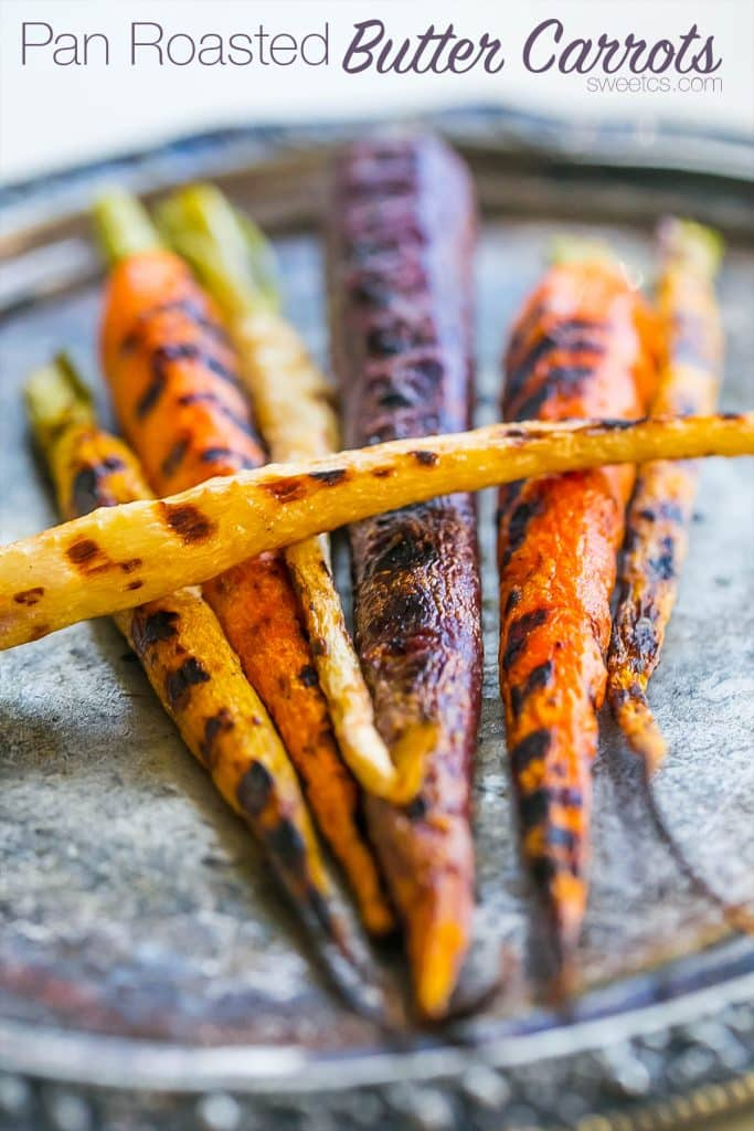 These delicious buttery carrots are my absolute favorite- and so easy!!
