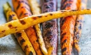 Pan Roasted Butter Carrots