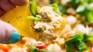 Cheesy Chicken Enchilada Dip