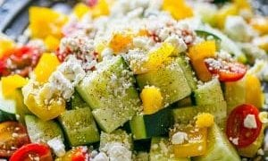 Garden Vegetable Greek Salad